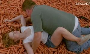 Сцена секса с Джессика Честейн на моркови