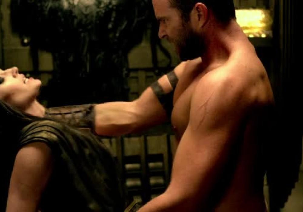 Порно ролик из фильма 300 спартанцев расцвет империи