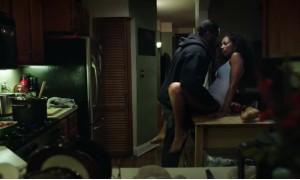 Секс с Натали Пол на столе