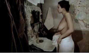 Обнаженная грудь Ольги Березкиной