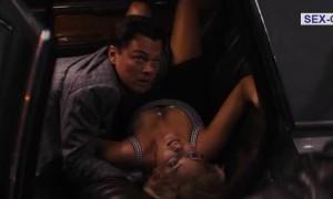 Откровенная сцена с Марго Робби в машине
