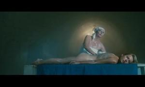 Голая Анастасия Панина в бане