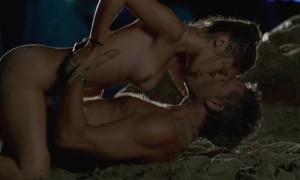 Секс с Лола Ле Ланн на пляже