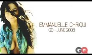 Эммануэль Шрики в купальнике для журнала GQ