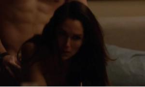 Двойная сцена секса с Лела Лорен и Натури Наутон
