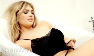 Эротическая фотосессия Кейт Аптон для журнала Esquire